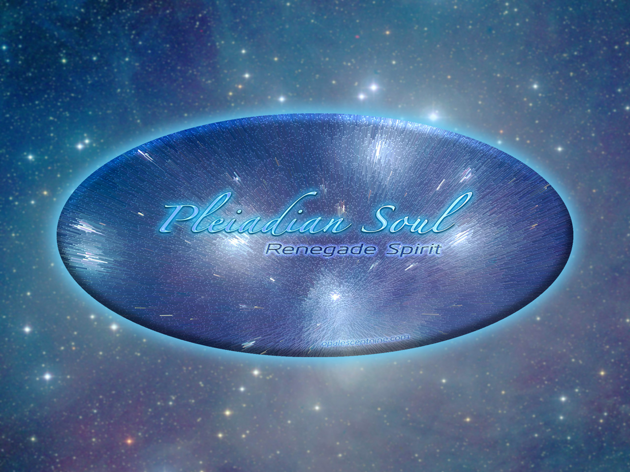 Free Pleiadian Hyperspace HD Wallpaper